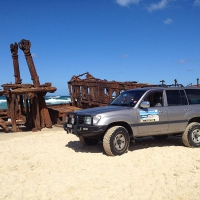 Tour Fraser Island with Cristina and Anthony